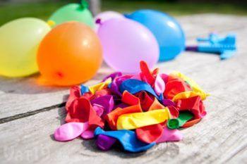 как сделать своими руками украшения из шаров на свадьбу