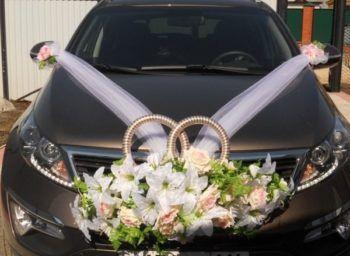 свадебные украшения на авто своими руками как сделать