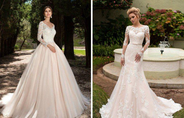 Платья на свадьбу прямого силуэта  красивые варианты и советы невесте по выбору